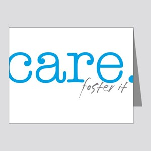 care. foster it Note Cards (Pk of 10)