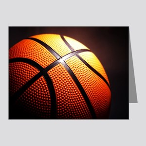 Basketball Ball Note Cards