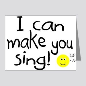 I Can Make You Sing Note Cards (Pk of 10)