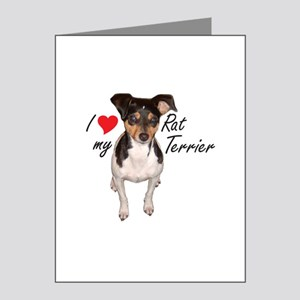 Rat terrier Note Cards (Pk of 10)