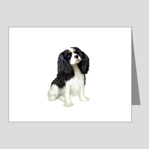 Cavalier (tri color) Note Cards (Pk of 10)