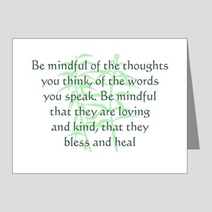Be Mindful Note Cards