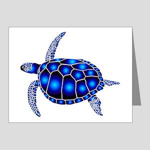 sea turtle ocean marine beac Note Cards (Pk of 10)