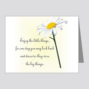 little things Note Cards