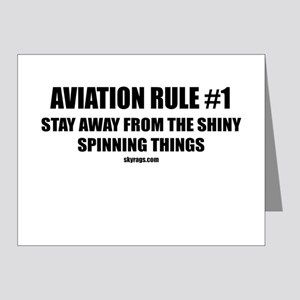 AVIATION RULE #1 Note Cards (Pk of 10)