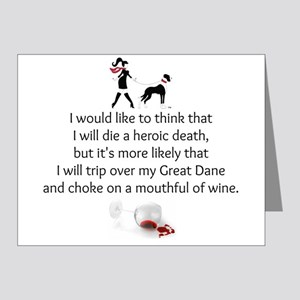 Wine Quote Note Cards