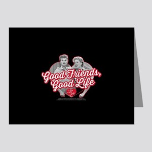 Lucy and Ethel:Good Friends Note Cards (Pk of 10)