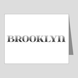 Brooklyn Carved Metal Note Cards (Pk of 10)
