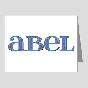 Abel Carved Metal Note Cards (Pk of 10)