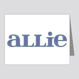 Allie Carved Metal Note Cards (Pk of 10)