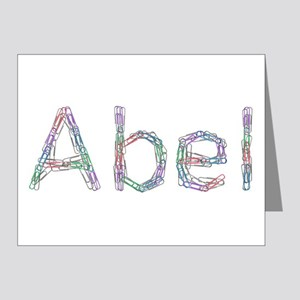 Abel Paper Clips Note Cards (Pk of 10)