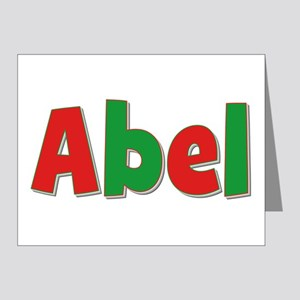Abel Christmas Note Cards (Pk of 10)