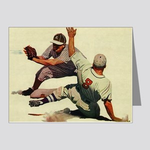 Vintage Sports Baseball Note Cards (Pk of 10)