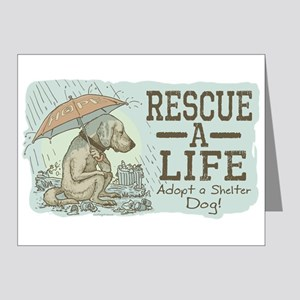 Adopt a Shelter Dog Note Cards (Pk of 10)