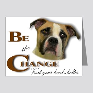Be the Change Note Cards (Pk of 10)