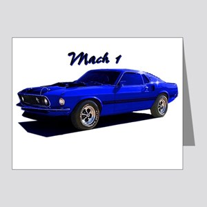 Mach 1 Note Cards (Pk of 10)