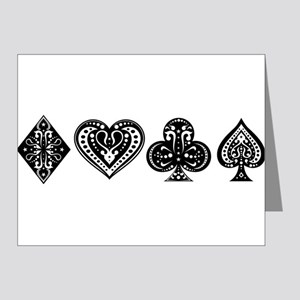 Card Symbols Note Cards (Pk of 10)