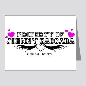 Property of Johnny Note Cards (Pk of 10)