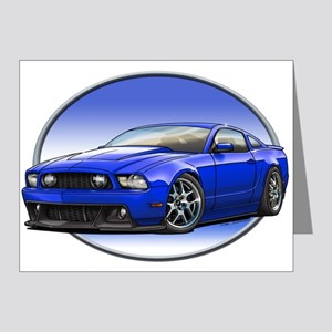 GT Stang Blue Note Cards