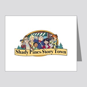 Shady Pines Story Town Note Cards