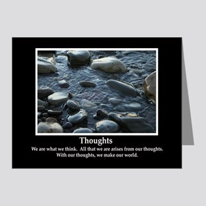 Thoughts Inspiring Note Cards (Pk of 10)