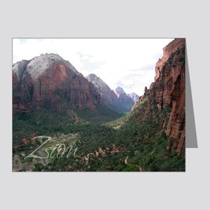 Zion Angle Landing Hike Note Cards (Pk of 10)