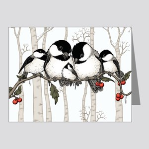 Chickadee Family Note Cards (Pk of 10)