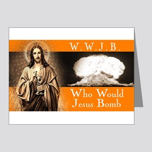 WWJB - Traditional Jesus Note Cards (Pk of 10)