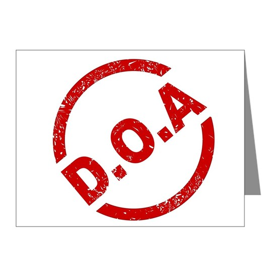 D.O.A Stamp