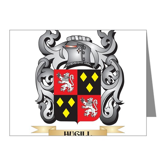 Hugill Coat of Arms - Family Crest