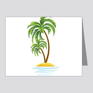 Palm Tree Note Cards (Pk of 20)