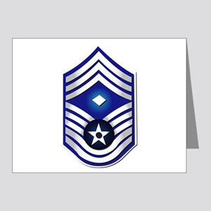 USAF - 1stSgt (E9) - No Text Note Cards (Pk of 20)