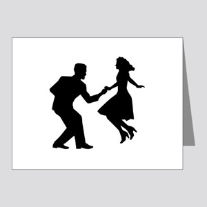Swing dancing Note Cards (Pk of 20)