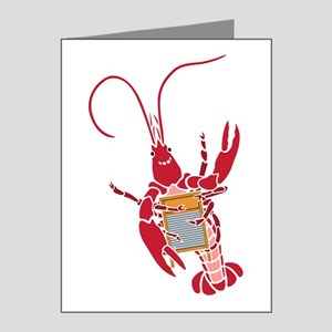 Washboard Crawfish Note Cards (Pk of 20)