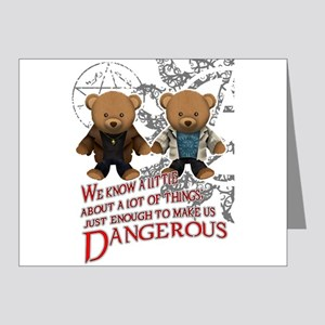 Winchester teddy bears Note Cards (Pk of 20)
