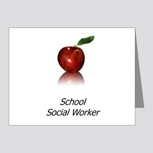 School Social Worker Note Cards (Pk of 20)