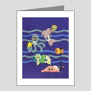 Undersea Nursery Note Cards (Pk of 20)