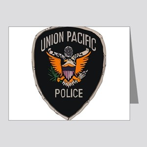 Union Pacific Police patch Note Cards (Pk of 20)