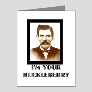 Doc Holliday - I'm Your Huckleberry Note Cards (Pk
