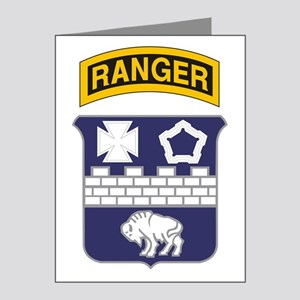 17th Ranger Note Cards (Pk of 20)