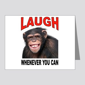 LAUGH Note Cards (Pk of 20)