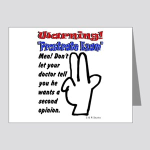 Prostrate Warning Note Cards (Pk of 20)