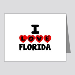 I Love Florida Note Cards (Pk of 20)