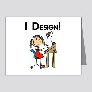 I Design Note Cards (Pk of 20)