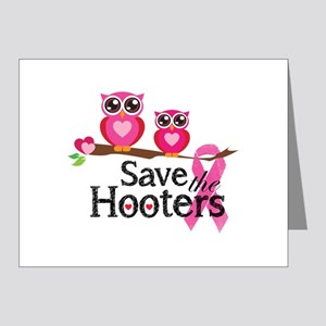 Save the hooters Note Cards (Pk of 20)