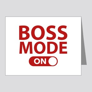 Boss Mode On Note Cards (Pk of 20)