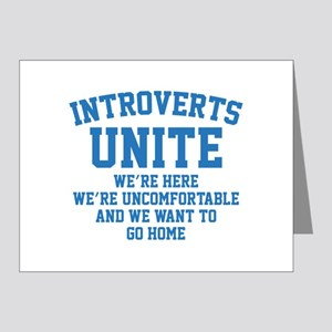 Introverts Unite Note Cards (Pk of 20)