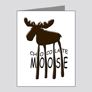 Chocolate Moose Note Cards