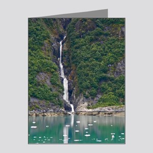 Glacier Waterfall Note Cards (Pk of 20)