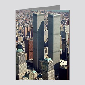 WTC-Complex-lge poster-8b5-c Note Cards (Pk of 20)